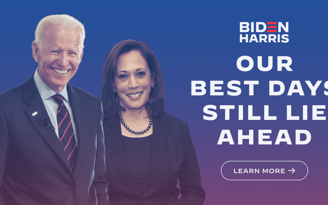 Biden and Harris Poster