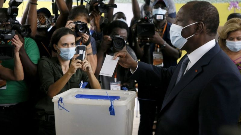 Cote d'Ivoire: Presidential Ballot Marred by Fear