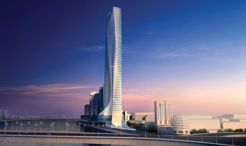 Africa's Tallest Building Under Construction in Egypt's New Capital