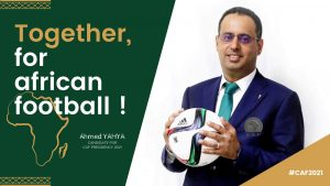 Mauritanian candidate for CAF presidency, Ahmed ould Yahya