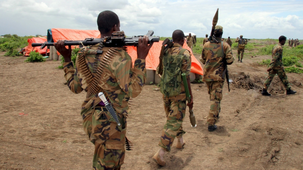 Al-Shabab militants - Photo Al Jazeera