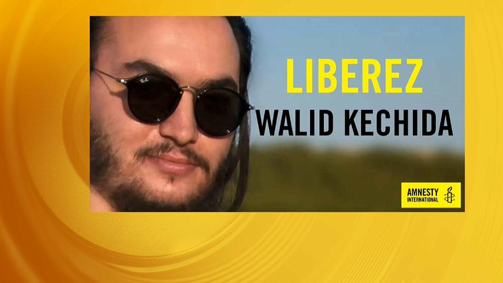 Walid Kechida Courtesy Amnesty International