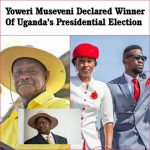 Announcement of Museveni Win