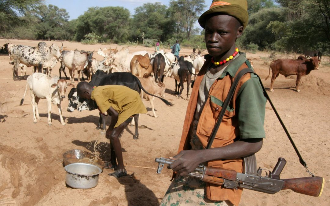 Arming Oneself to Protect the Flock - Photo The New Humanitarian