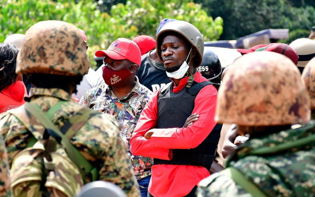 Bobi Wine Arrested during the campaign and after - Photo Voice of America