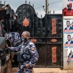 Bobi Wine Locked Up - Photo Seychelles News Agency
