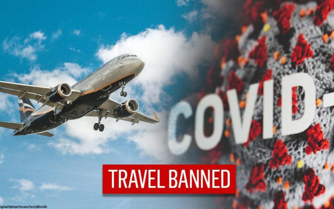 COVID19 Travel Ban - Montage Republic World