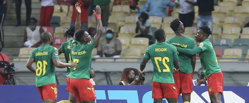 Cameroon Celebrate Semi-final Spot Won Against DR Congo - Pressfrom