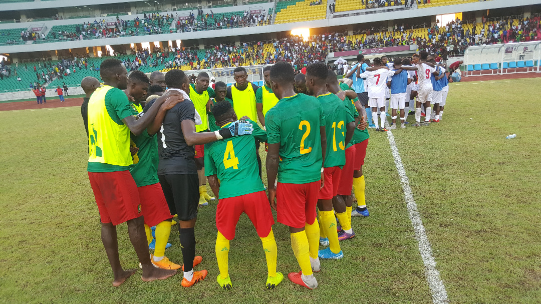 Cameroon Prepare to Road - Photo Fecafoot