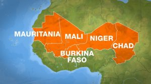 Four Countries of the Central Sahel