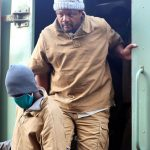 Zimbabwean journalist Hopewell Chin'ono during his August 2020 arrest - Photo Reuters/Philimon Bulawayo