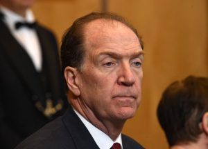 World Bank President David Malpass