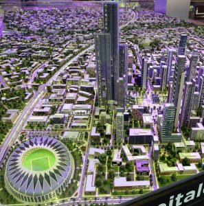 One View of Egypt's Futuristic New Capital