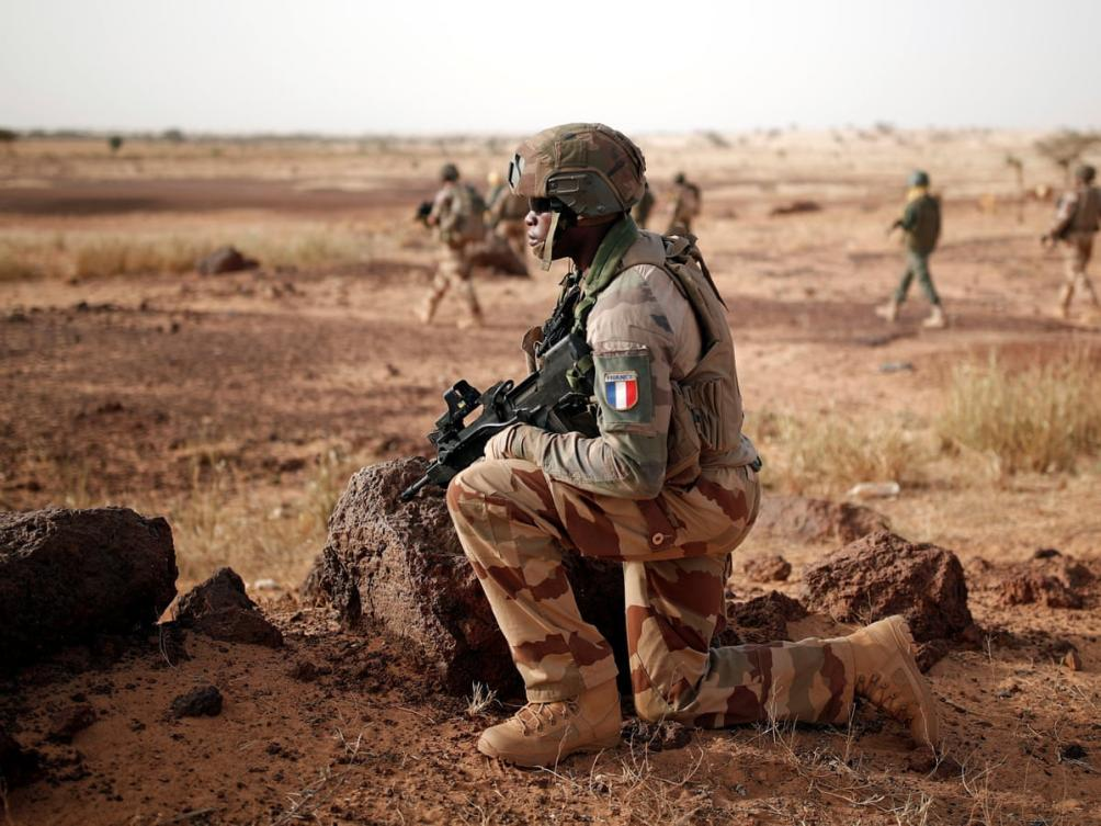 French Troops Fighting Terror in the Sahel