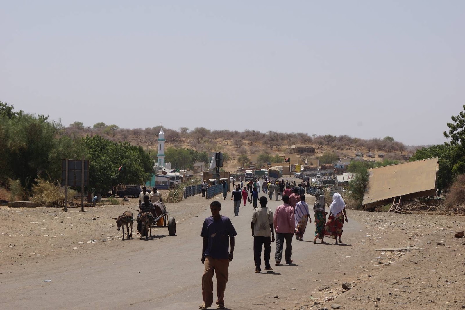 Fresh Sudan-Ethiopia border clashes displacing people