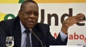 Issa Hayatou during the 2016 Championships