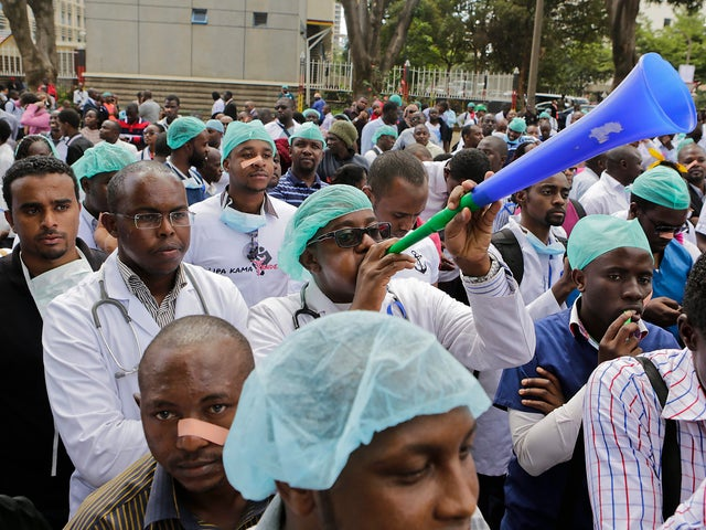 Kenyan Medical Doctors and Healthcare Workers on Strike
