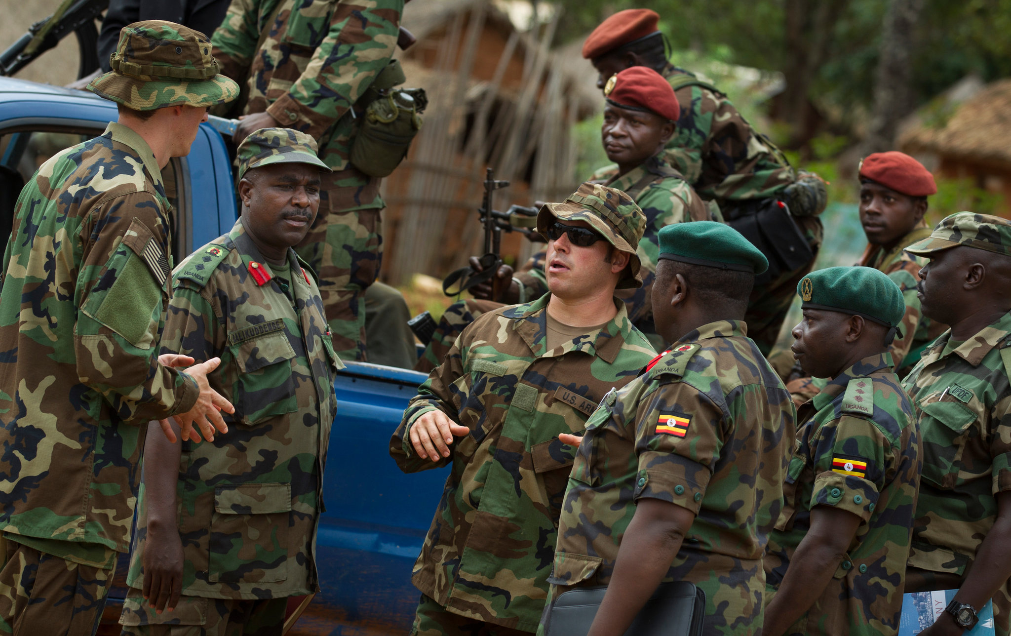 Hunt for Kony involving US Force Dispatched by President Obama - Photo The New York Times