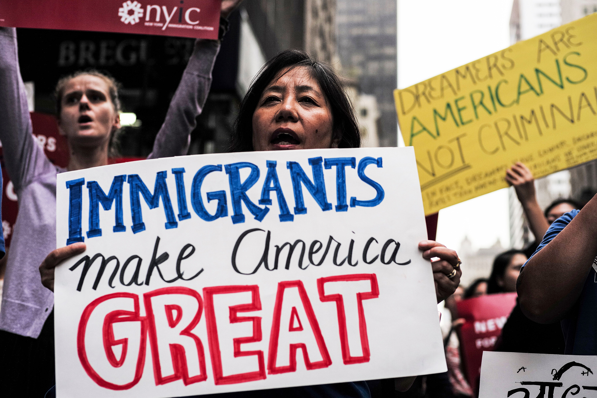 Rally in support of immigration reform - Photo JEWEL SAMAD/AFP via Getty Images