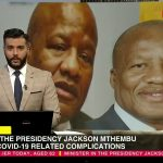 Jackson Mthembu dies from COVID - ScreenShot from YouTube