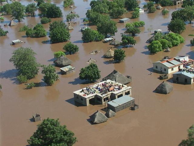 Limpopo River Basin During Previous Floods - Photo Arcgis.com