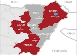 Locating Yobe State