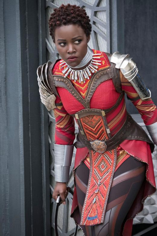 Lupita Nyong'o in Black Panther - Photo The New Paper