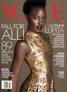 Lupita Nyong'o on Cover of a 2015 Edition of Vogue