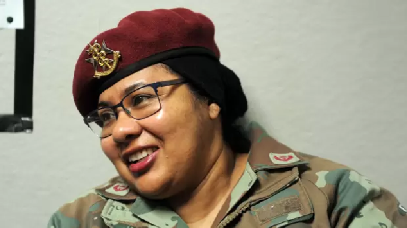Maj. Fatima Isaacs - Photo Voice of the Cape