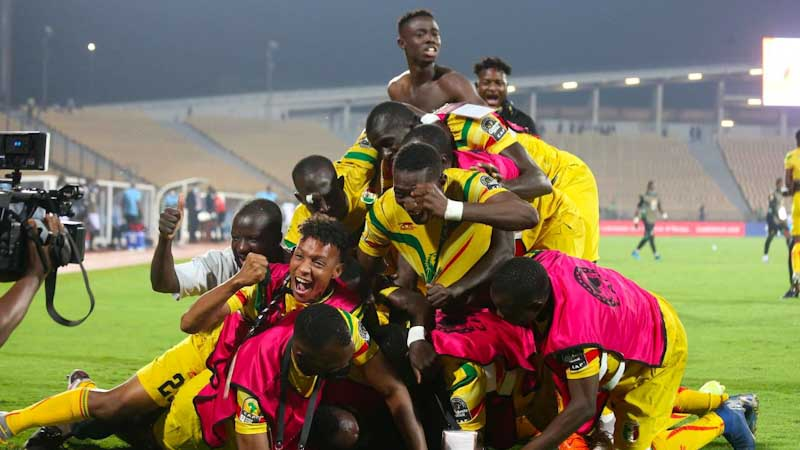 Mali Celebrate After Edging Congo-Brazzaville Out of CHAN2020 - Footy-Ghana.com