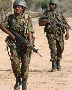 New Recruits in Traning in KDF - Photo Advance Africa