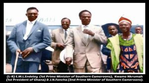 Nkrumah visits Southern Cameroons in 1959