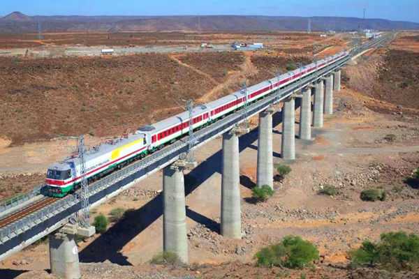 Railway Line in Tanzania Built as Part of the China-supporter One Belt One Road Strategy