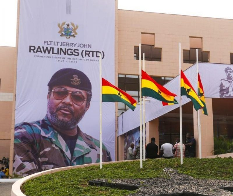 Partial View of Accra Conference Center during Funeral of JJ Rawlings - Photo Ghana News Agency