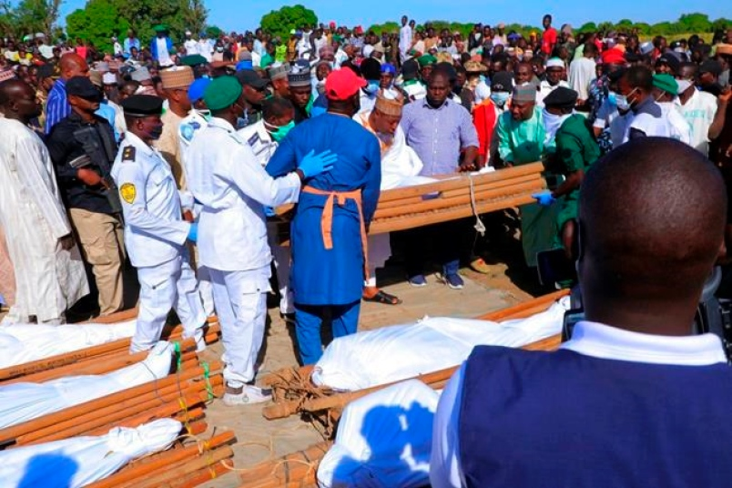 Funeral for Tillaberi Region Victims