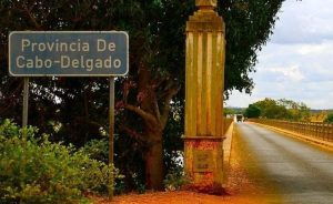 Road Sign for Provincia De Cabo-Delgado
