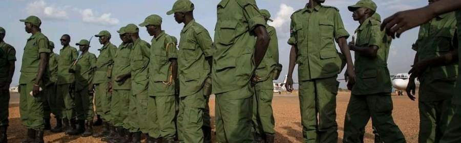 South Sudanese Soldiers