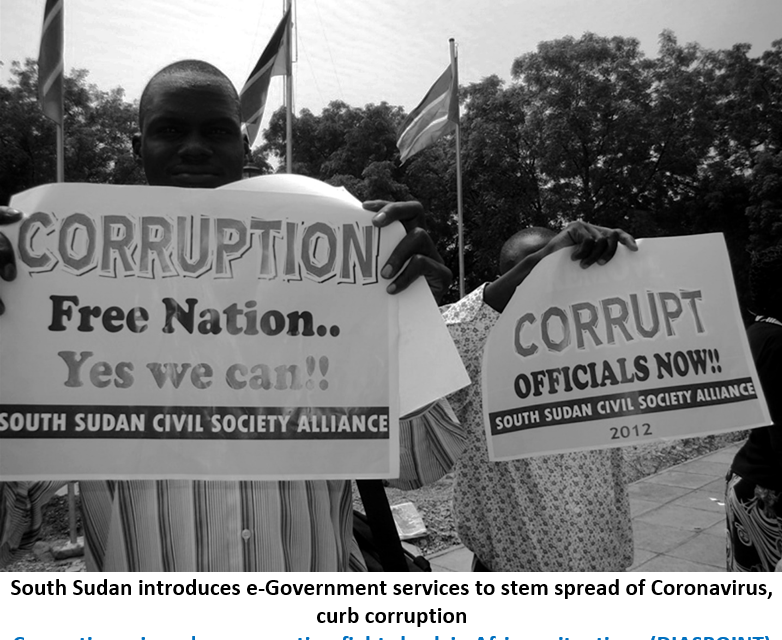 Seeking a Corruption Free South Sudan - Photo African Migrants in Europe