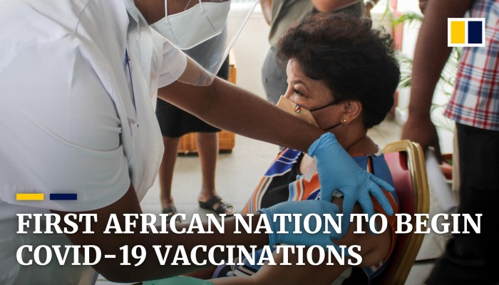 Seychelles First African Country to Launch COVID19 Inoculation - Photo South China Post