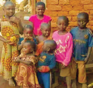 Some of the children massacre in Ngarbuh - Photo Pan African Visions