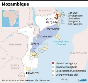 Source National Oil Institute of Mozambique