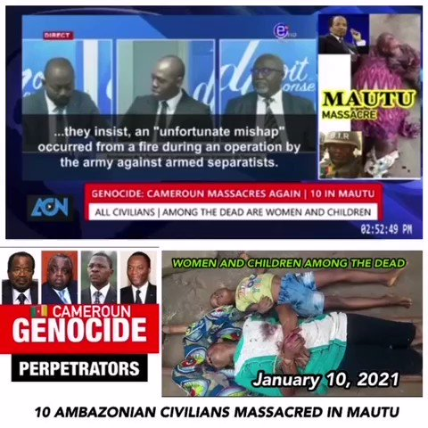 Source Southern Cameroons Lives Matter on Twitter