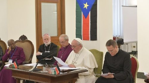South Sudan at Sant'Egidio - Photo Vatican News
