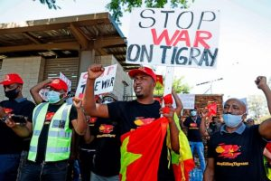 Stop War in Tigray Protest