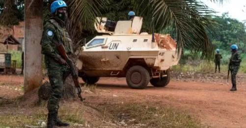 UN Peacekeepers defend Bangui - Photo YCNews