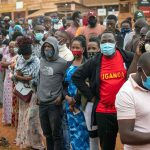 Ugandans wait to vote - Photo Outlook Photo India Gallery Elections