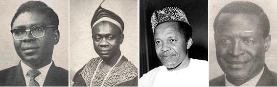 Southern Cameroons First Four Prime Ministers