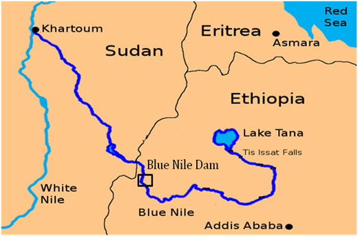 White and Blue Nile Rivers