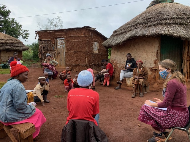 Working to curb COVID-19 in rural Eswatini - Photo Catholic Medical Mission Board