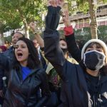 Young people in nighttime protests in Tunis - TRT World